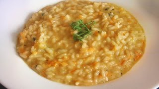 Carrot And White Chocolate Risotto Recipe - Especially For Grilled Rabbit /michelin Star Restauarant