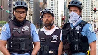 Whoa: AN ARMY OF COPS ARRIVED IN CHICAGO!!! (FAIL) First Amendment Test Constitution