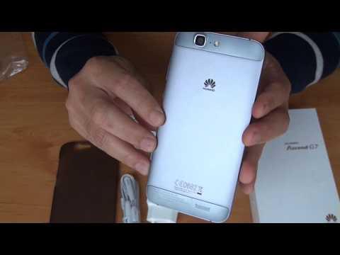 Unboxing: Smartphone Huawei Ascend G7 (em Português/Brasil)