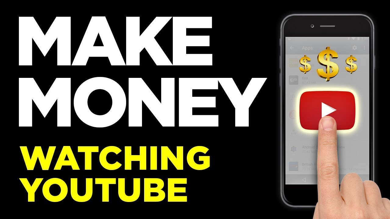 Make Money Fast Watching Videos On The Couch - YouTube