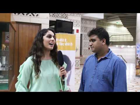 Post Screening interview of Mangesh Hadawale Director-Writer of the film Chalo Jeete Hain
