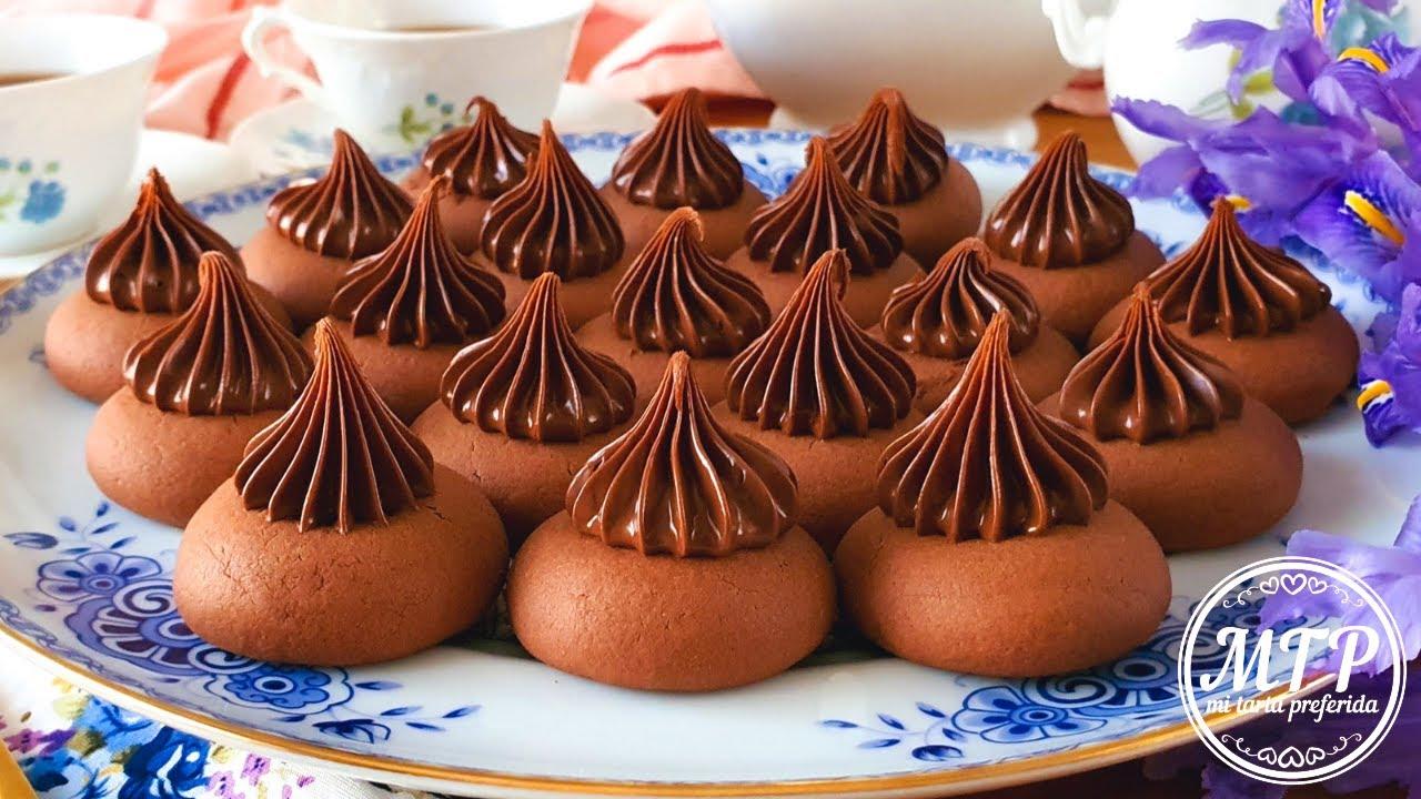 NUTELLOTTI - GALLETAS DE NUTELLA | Las más fáciles y deliciosas | Mi tarta preferida