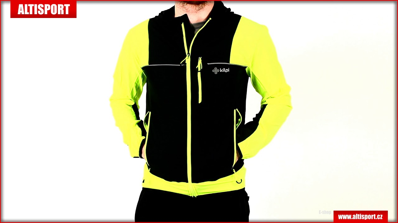 368664b949ed pánská sportovní bunda kilpi joshua m jm0172ki žlutá - YouTube