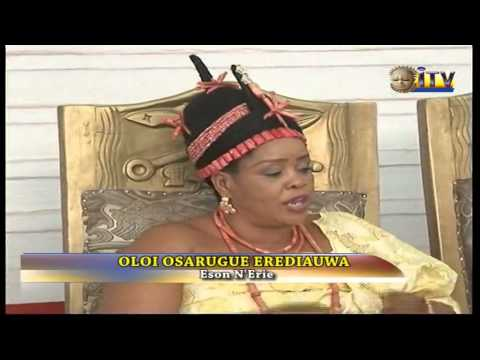 Omosede Igbinedion condoles with wife of Oba over death of mother
