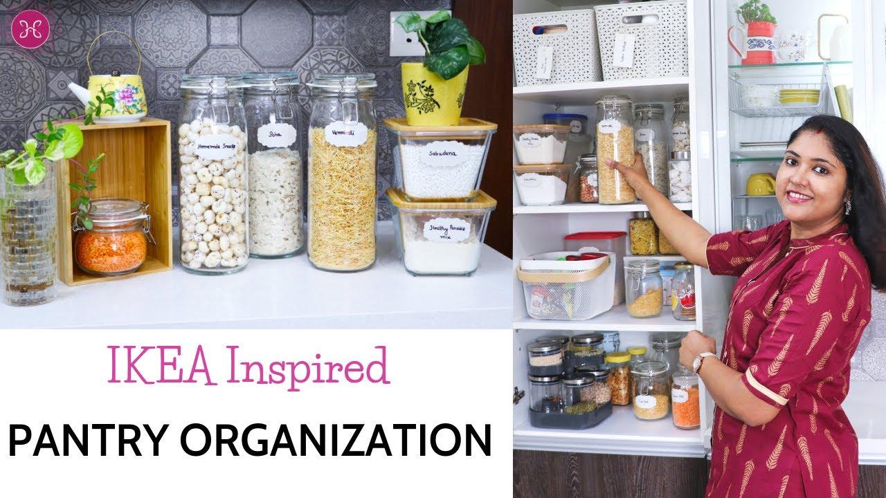 Indian Kitchen Organization Ideas  Pantry Organization Ideas   IKEA Inspired
