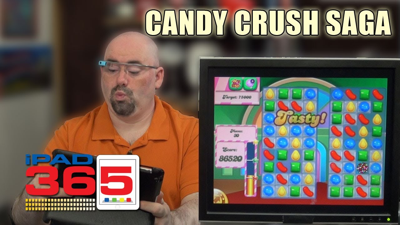 how to connect candy crush saga to facebook on ipad