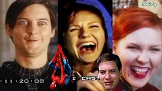 Tobey Maguire: Spider-Man(1,2,3) Hilarious Bloopers and Gag Reel | Try Not To Laugh