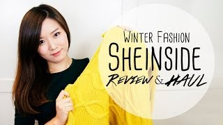 Winter Fashion HAUL (Sheinside Review & My Thoughts on Online Shopping)