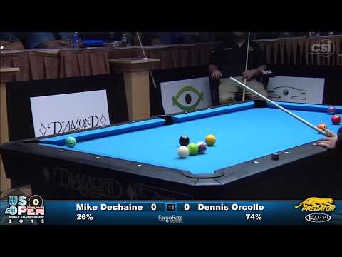 2015 US Open 8-Ball: Dennis Orcollo vs Mike Dechaine (Final)