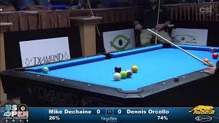 Video 2015 US Open 8-Ball: Dennis Orcollo vs Mike Dechaine (Final) download MP3, 3GP, MP4, WEBM, AVI, FLV Agustus 2018