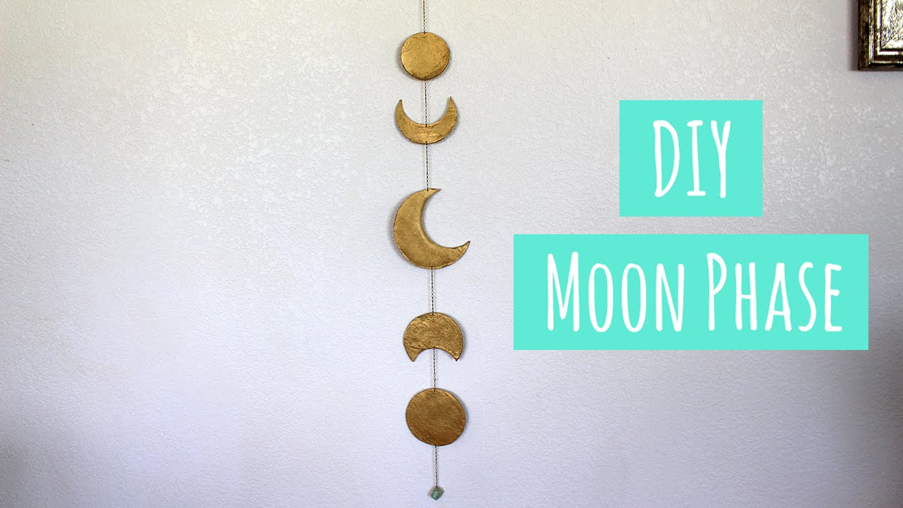 Diy Moon Phase Youtube
