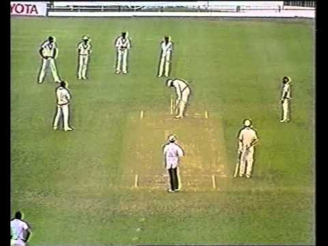 Malcolm Marshall AWESOME BOWLING vs New Zealand 1987