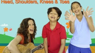 Head, Shoulders, Knees and Toes | Children's song | Patty Shukla
