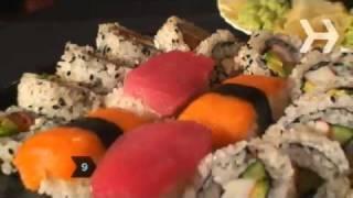 How To Eat Sushi Как есть жрать суши