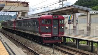 しなの鉄道 115系 S4編成安茂里駅発車