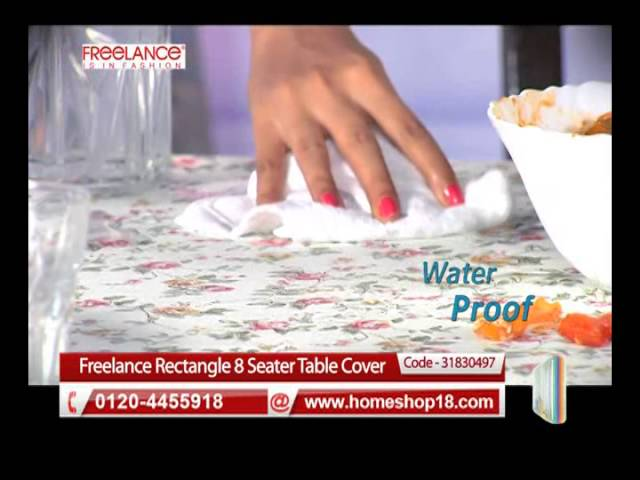 HomeShop18.com - Freelance Rectangle 8 Seater Table Cover (60 X 108)