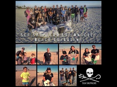 Beach Guardians - Sea Shepherd Los Angeles MEDIA