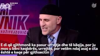 Porosia e shqiptarit për boshnjakët, serbët dhe kroatët