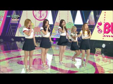 (150821) Blady - Secret Number @ KBS Music Bank