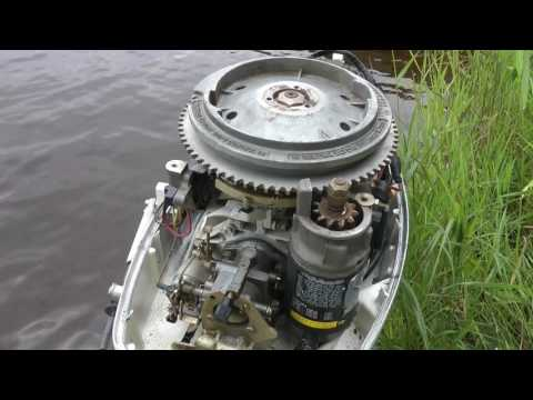 Getting an old outboard motor running - Part 1 - Basic Overv