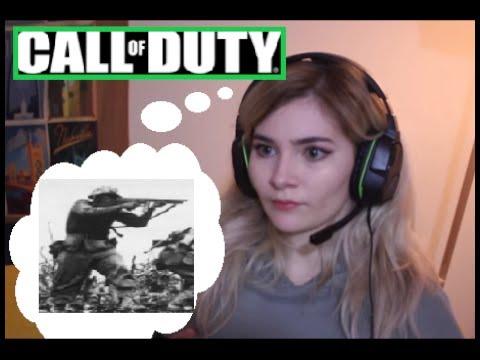 Gamer Girl Clover has Vietnam Flashbacks while playing COD