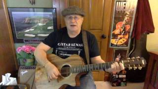 261b -  Same Old Lang Syne -  Dan Fogelberg vocal & acoustic guitar cover & chords