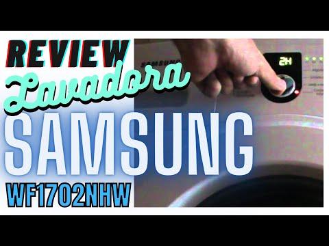 REVIEW | Lavadora Samsung WF1702NHW