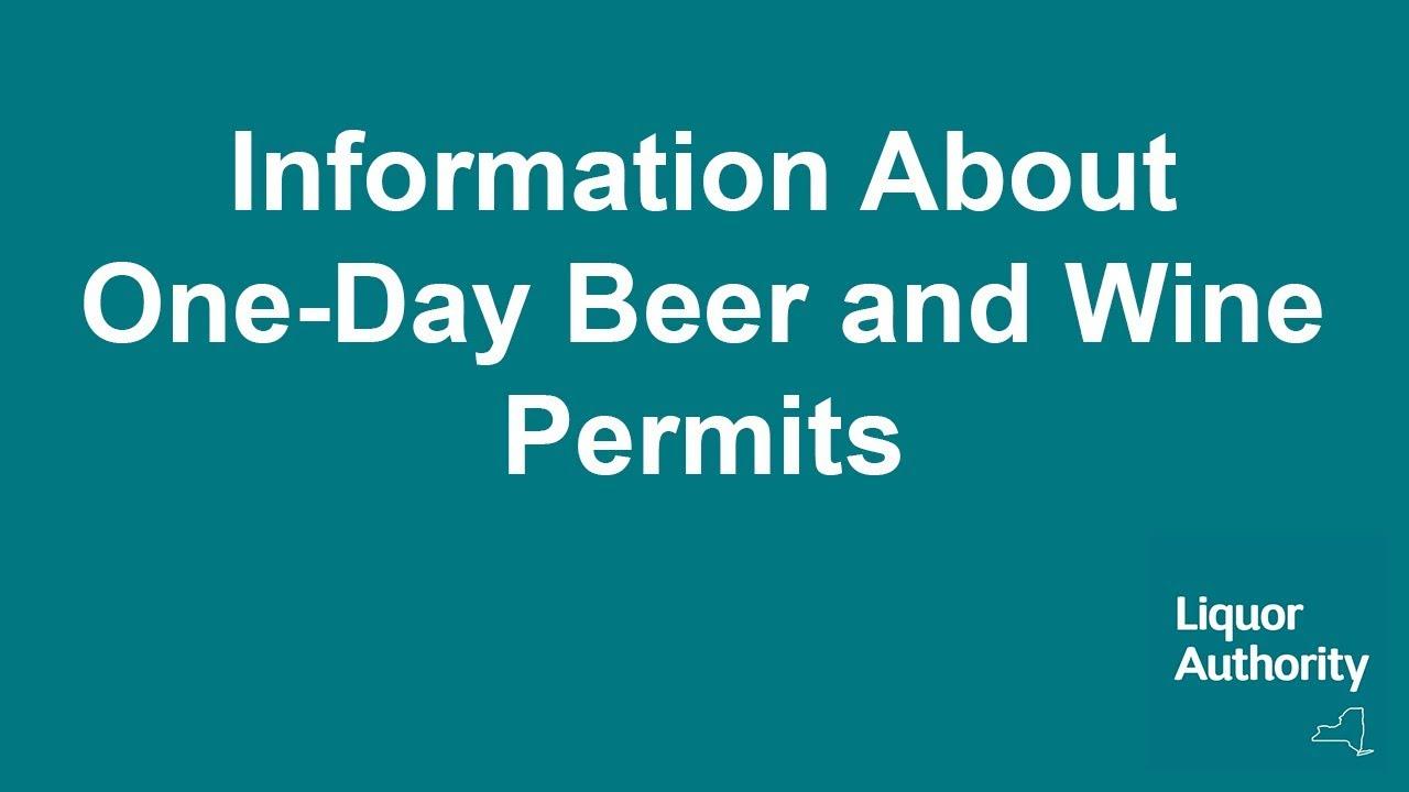 Permits Available Online | Liquor Authority