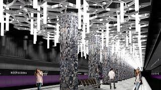 Строительство ст. метро Некрасовка и то, что вокруг 08.04.13г