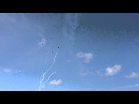 Blue Angels over Pensacola Beach 2