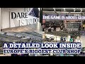 A DETAILED LOOK INSIDE EUROPE'S BIGGEST CLUB SHOP: New Club Store at Tottenham's New Stadium
