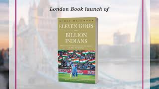 Axis Bank | London book launch of Eleven Gods And A Billion Indians