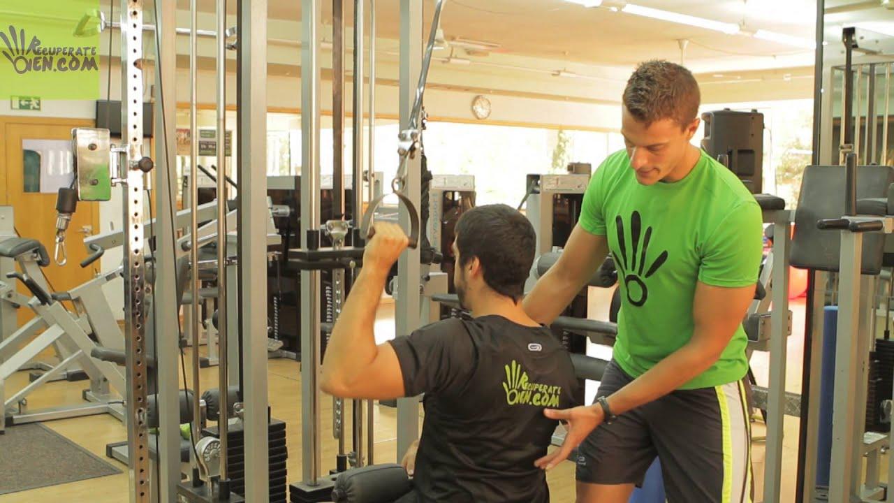 28 gym jal n abierto o ancho a una mano youtube for Gimnasio abierto