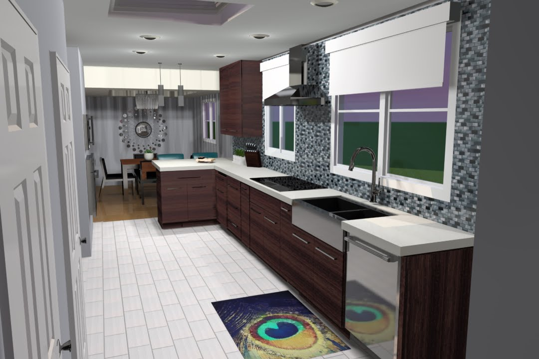 3d Rendering Of Kitchen Remodel In Milwaukee Wi Youtube