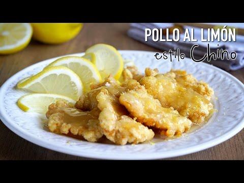 Pollo al limón estilo Chino - Chinese Lemon Chicken Recipe