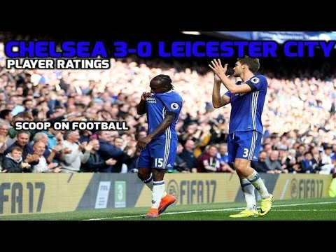 Chelsea 3-0 Leicester City | Diego Costa, Eden Hazard and Victor Moses Score
