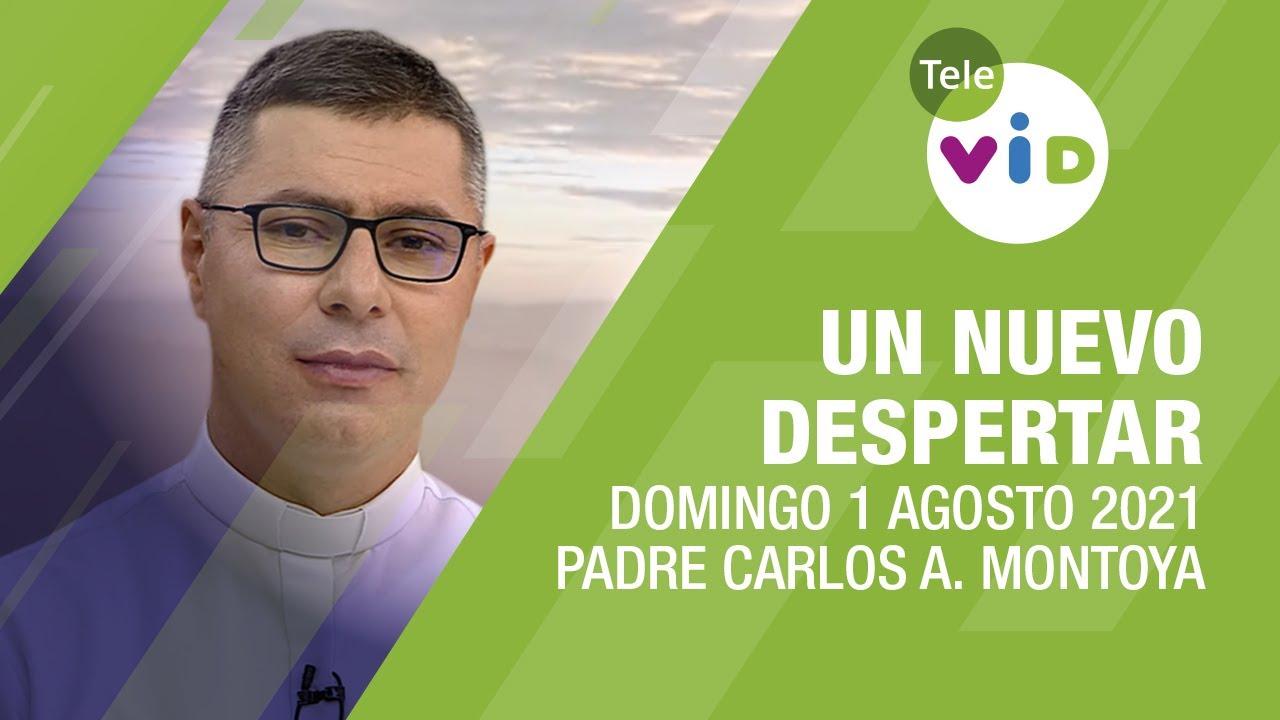 Un nuevo despertar 🌄 Domingo 1 de Agosto 2021, Padre Carlos Andrés Montoya - Tele VID