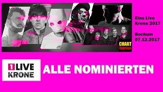 Eins Live Krone 2017 | Alle Nominierten | German Radio-Award | ChartExpress
