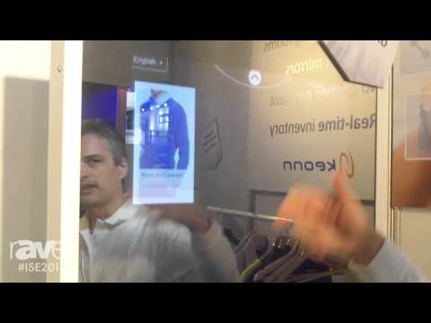 ISE 2016: Keonn Demonstrates Interactive Fitting Room System