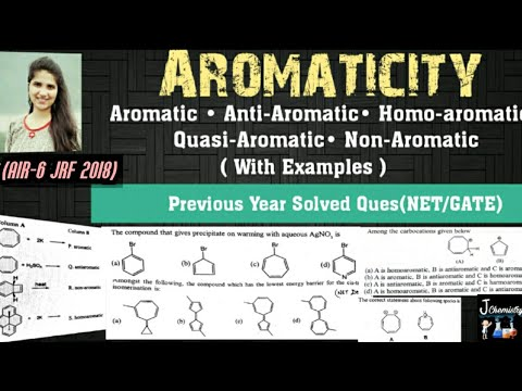 Aromaticity organic chemistry Huckel rule|Aromaticity in benzenoid and non benzenoid compounds