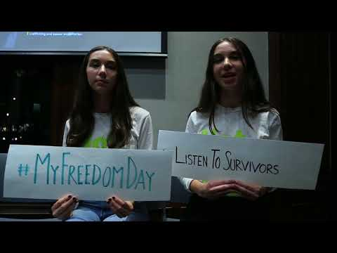 #MyFreedomDay: Students in NY Advocate with World Without Exploitation