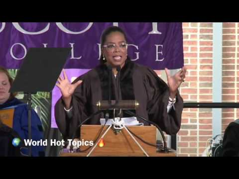 Oprah Winfrey' s Inspiring 2017 Commencement Speech At Agnes Scott College