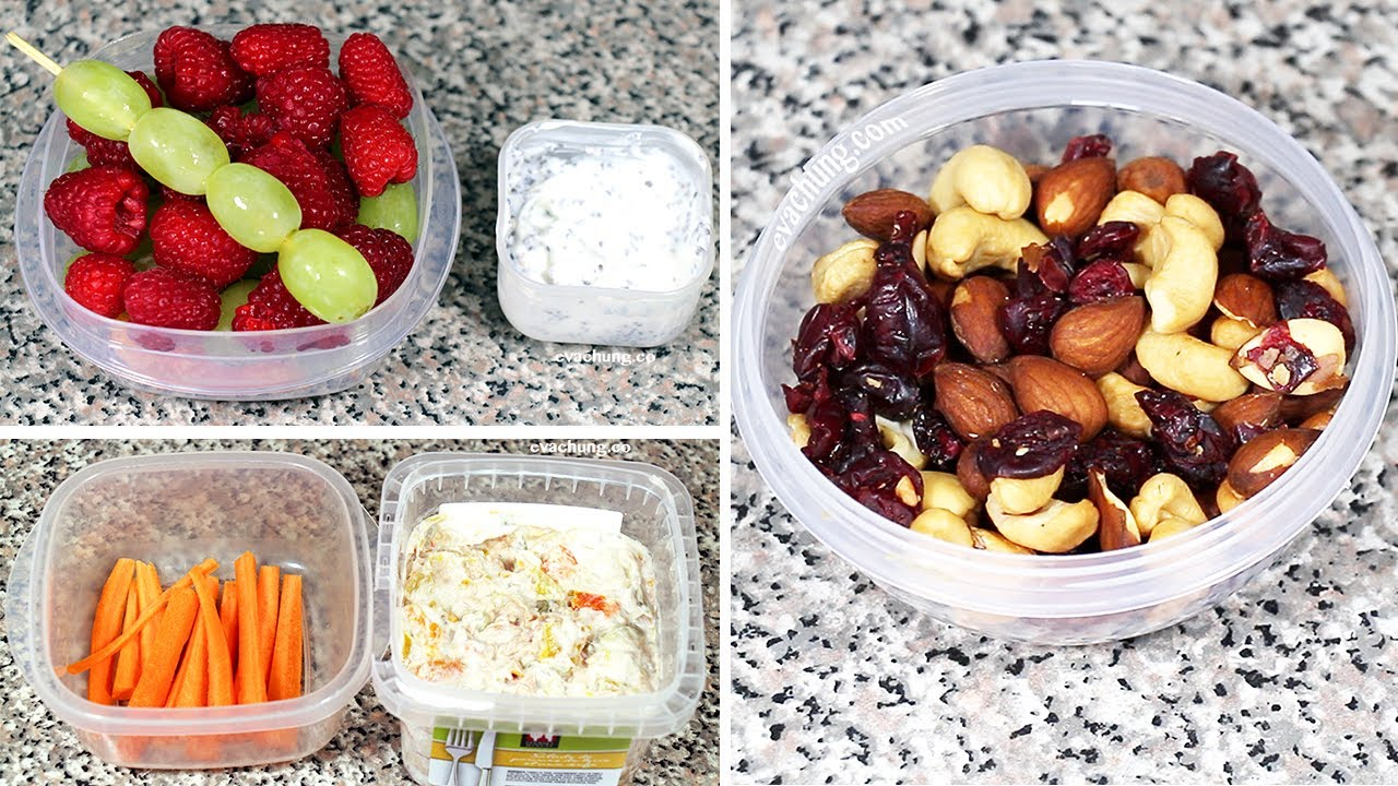 How to 3 back to school quick easy healthy snack ideas for How to make homemade healthy snacks