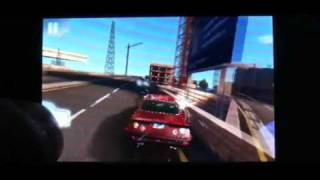 Fast Five the Movie: Official Game on lg gt 540 optimus android 2.3.3 gameplay