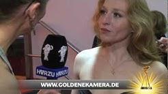 Interview mit Brigitte Hobmeier - Goldene Kamera 2012