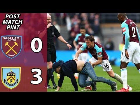 West Ham 0-3 Burnley | Post Match Pint