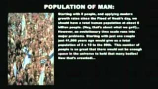 Epic creationist fails of our time -- Population and magnetic fields proves young Earth