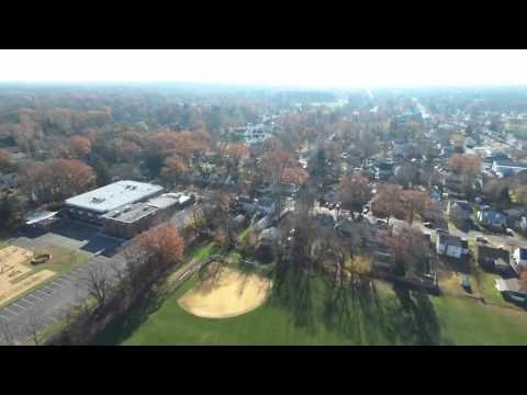 Thanksgiving 2015, Scotch Plains NJ from 300 feet up