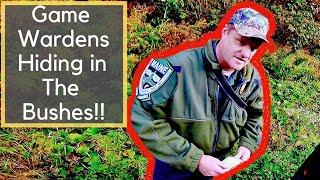 Tricked by the GAME WARDENS!! + Catch and Cook Ruffed Grouse (Partridge)