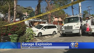Man Seriously Hurt When Garage In Mount Washington Explodes